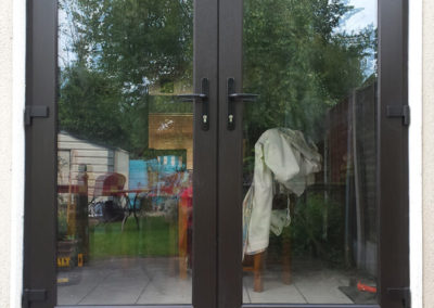 Double glazed french door