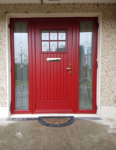 Palladio Dublin door with sidelights