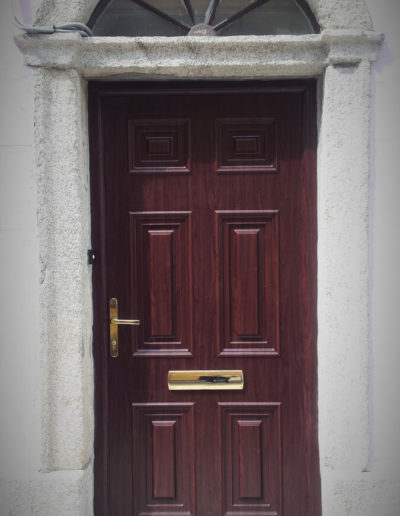 Palladio Georgian solid door in Rosewood