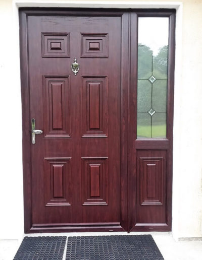 Palladio Georgian solid with sidelight in Rosewood (2)