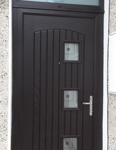 Palladio Paris door with toplight