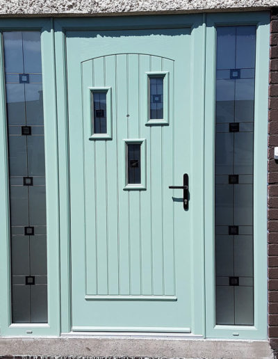 Palladio Rubens doos with sidelights in Chartwell Green