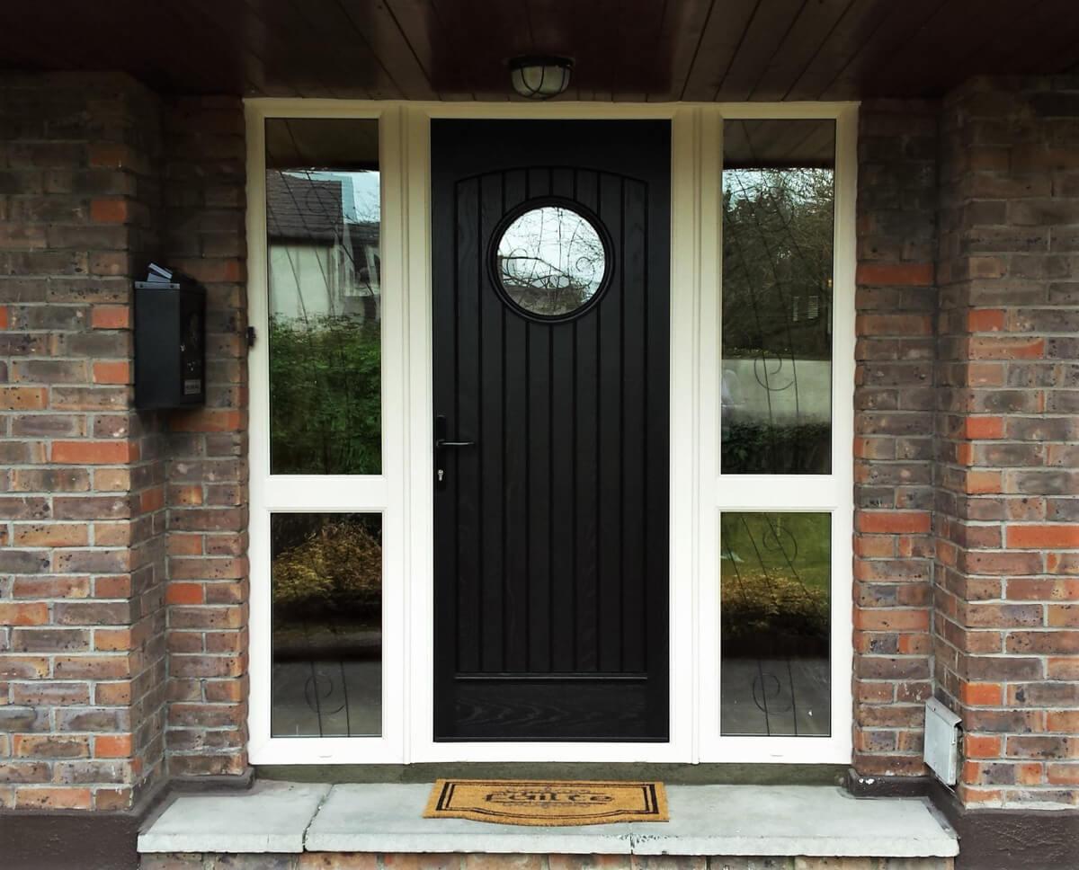 Palladio Viking Black Door And Cream Frame Brealey