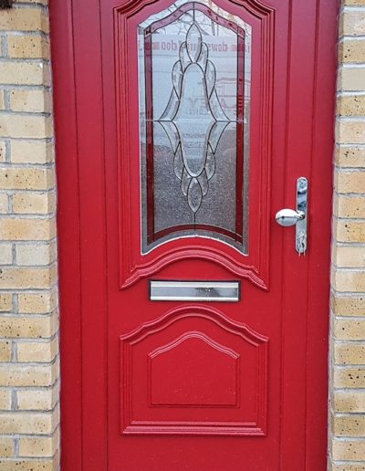 Carthage PVC door with Chrome furniture