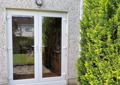 Doublr glaze French door