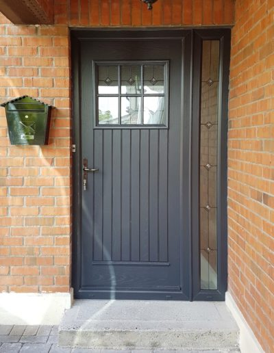 Dublin Door in Anthracite Grey