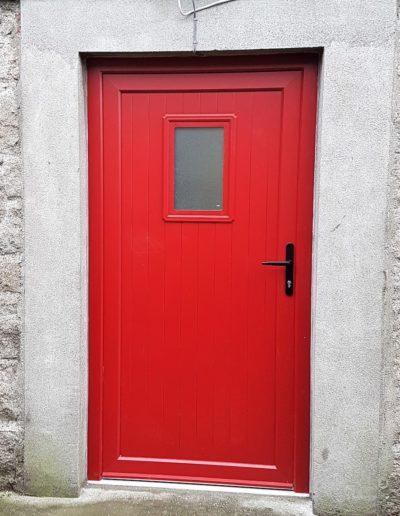 T & G PVC Door