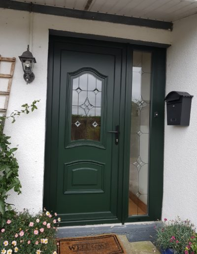 Pvc Front door + sidelight
