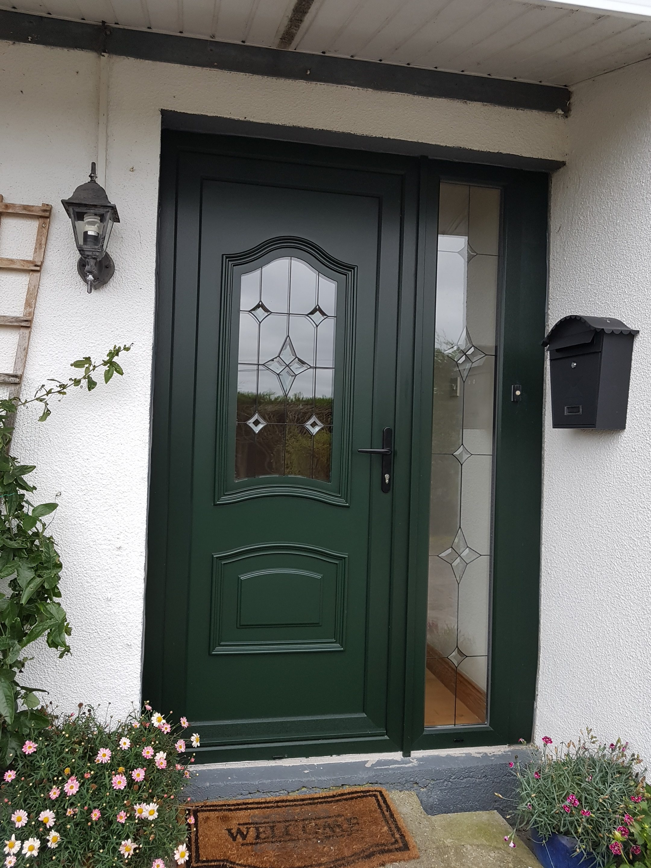 Pvc Front Door Sidelight Brealey Windows Doors Ltd