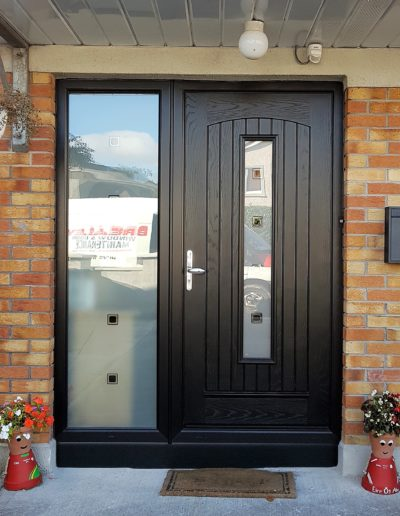 Seville Door with TG 136 Satinized Glass