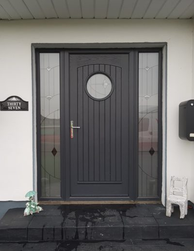 Viking Door in Anthracite Grey