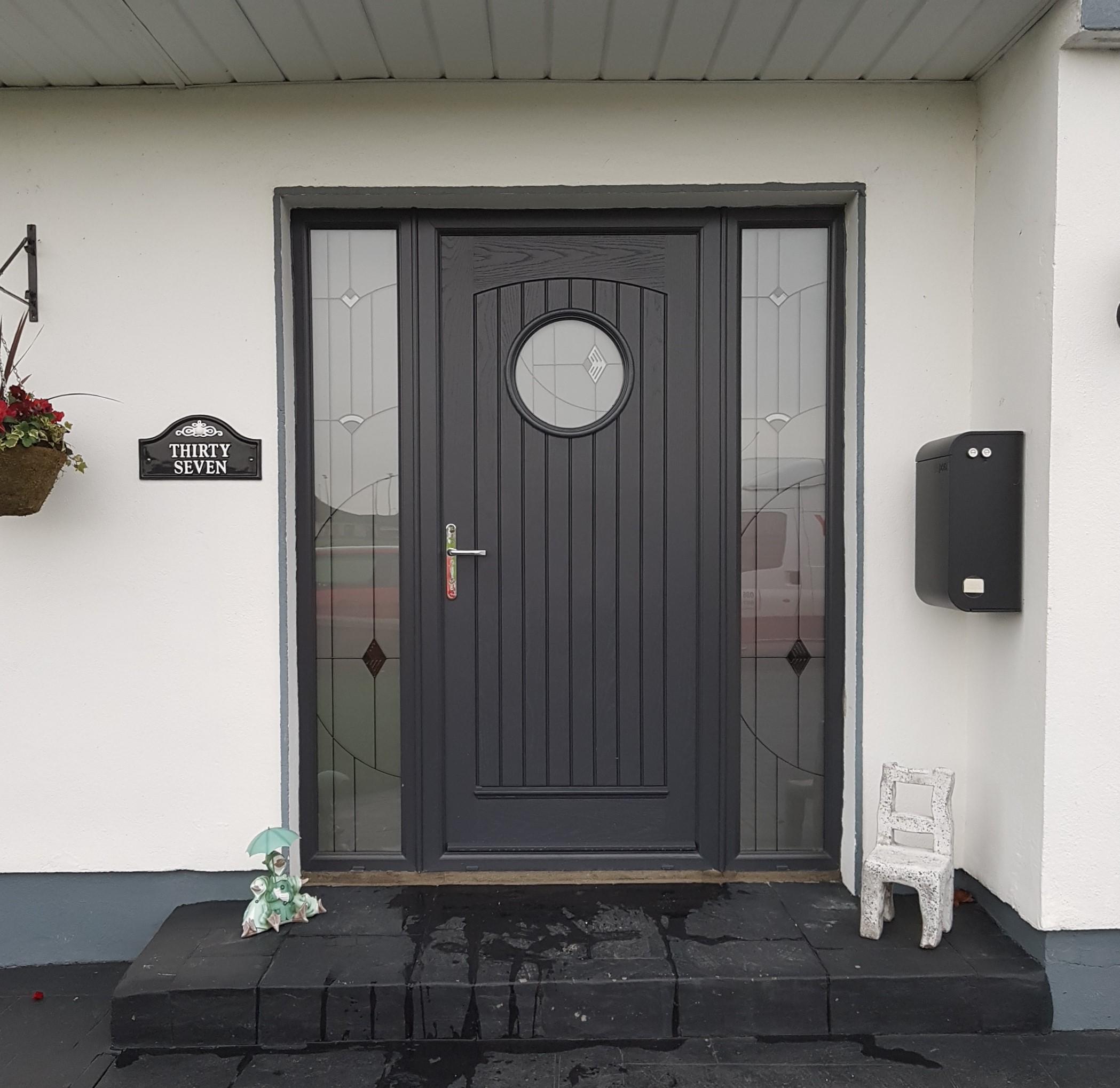 Green Windows And Doors