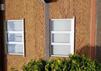 White tilt & turn windows